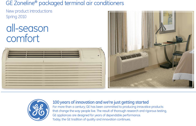 Ge thru the wall air conditioner and heat pump systems zoneline packaged terminal air conditioners provide year round comfort with individual heating and cooling temperature controls zoneline units are publicscrutiny Gallery